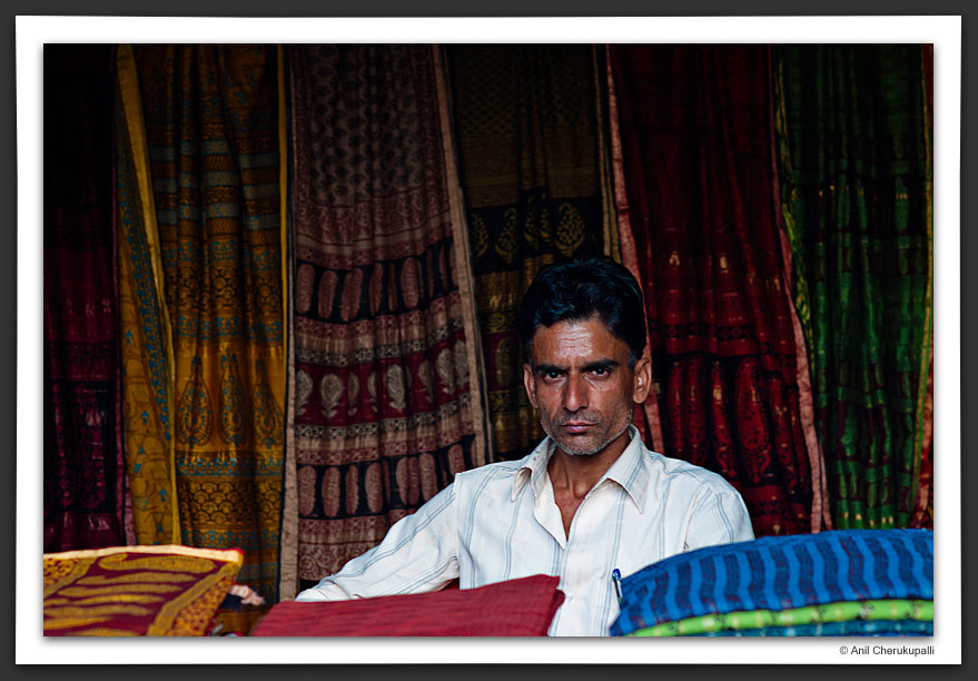 The Seller of Sarees